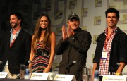 Мун Бладгуд, фото 109. Moon Bloodgood Cast Of TNT's Falling Skies At Comic-Con - July 22, 2011, foto 109