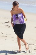 Christian Serratos | Bikini Candids At The Beach In Malibu 08.27.11 | 22x UHQ