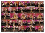 Tina Turner ---- mini dress--legs--shows much smooth silky skin--live-1982