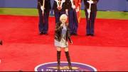 Cyndi Lauper---National Anthem--legs--boots--sexy--US Open--2011