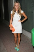 Amber Lancaster leaves The Nintendo Super Mario 3D Land Party, 3 November, x15