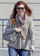Alyson Hannigan - running errands in Brentwood 05/11/'11