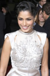 Фрида Пинто, фото 277. Freida Pinto 'Immortals 3D' Los Angeles premiere at Nokia Theatre L.A. Live on November 7, 2011 in Los Angeles, California, foto 277