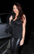 Amy Childs goes for dinner at Chinchin Restaurant in Los Angeles, 13 December, x29