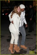 Mariah Carey - Visiting her mother's jewelry store in Aspen, Colorado (12-31-2011)