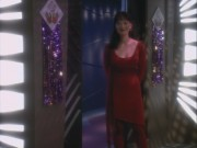 Rosalind Chao - Star Trek DS9 3x10 Fascination (cleavage)