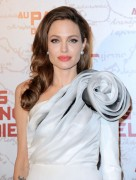 Angelina Jolie at In the Land Of Blood And Honey Premiere in Paris 16th February x10