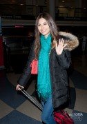 Victoria Justice Leaving LAX 2/18/12