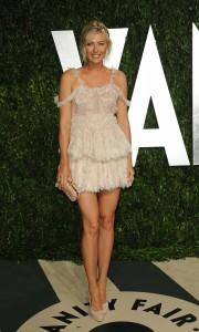 Мария Шарапова, фото 6381. Maria Sharapova 2012 Vanity Fair Oscar party - 26.2.2012, foto 6381
