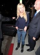 Тара Рейд, фото 2388. Tara Reid leaves Carlitos Gardel Restaurant in Hollywood, february 29, foto 2388