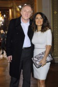 Salma Hayek - Stella McCartney Ready-To-Wear Fall/Winter 2012 show in Paris, France (3-5-12)