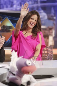 Алессандра Амброзио, фото 8168. Alessandra Ambrosio On 'El Hormiguero' TV Show in Madrid, 05.03.2012, foto 8168