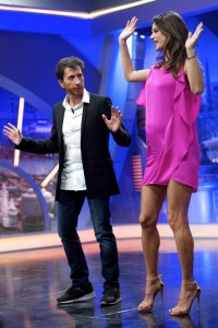 Алессандра Амброзио, фото 8182. Alessandra Ambrosio On 'El Hormiguero' TV Show in Madrid, 05.03.2012, foto 8182