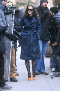 Лейгтон Мистер, фото 6891. Leighton Meester On the Set of 'Gossip Girl' in Manhattan - 05.03.2012, foto 6891