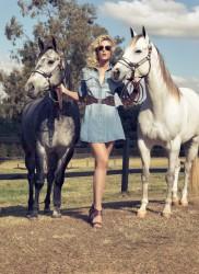 Ана Хайкмэн, фото 303. Ana Hickmann Equus Jeans Style 2012 Campaign, foto 303