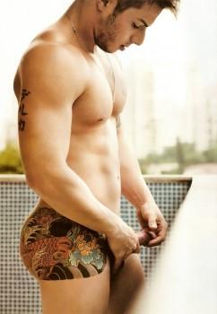 Homens Nus: Veja mais fotos de Niccolas pelado