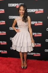 Zoe Saldana -Cosmopolitan For Latina's Premiere Issue Party 5/09/12