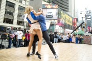 Katherine Jenkins Dancing on Good Morning America in New York City - May 23, 2012