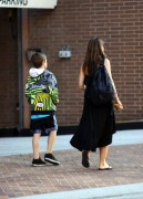 Charisma Carpenter - takes her son to the doctor's office in Beverly Hills, California on June 18, 2012