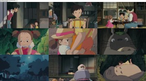 Download My Neighbor Totoro (1988) BluRay 720p 600MB Ganool