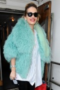 Rita Ora at the BBC Maida Vale Studios in London 10th August x37