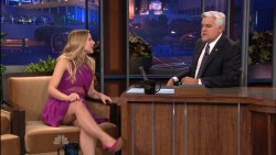 *Now with missing segment* Kristen Bell - Jay Leno - 8/16/12